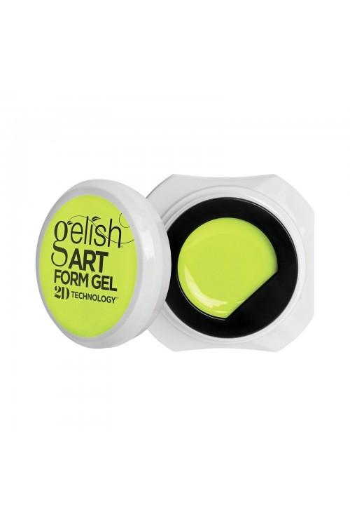 Gelish Art Form Gel - Neon Yellow