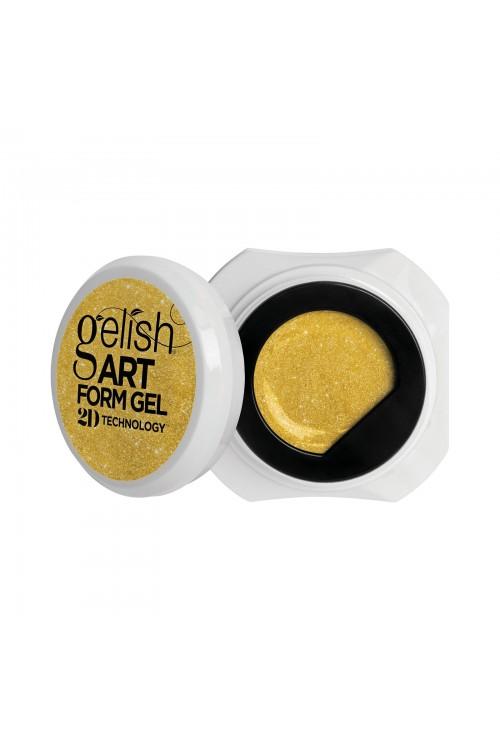Gelish Art Form Gel - Effects Gold Shimmer