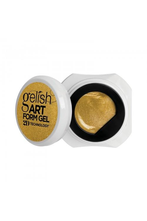 Gelish Art Form Gel - Effects Gold Metallic