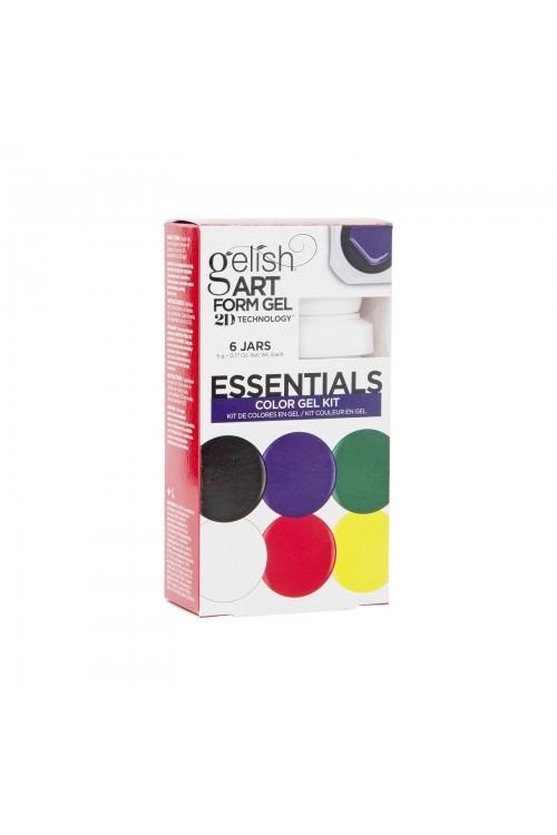 Gelish Art Form Gel - ESSENTIALS Color Gel Kit - Συσκ. 6τμχ