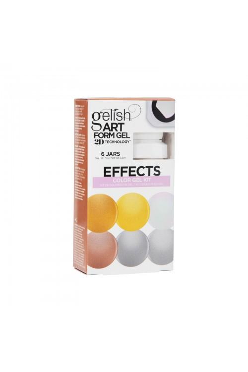 Gelish Art Form Gel - EFFECTS Color Gel Kit - Συσκ. 6τμχ