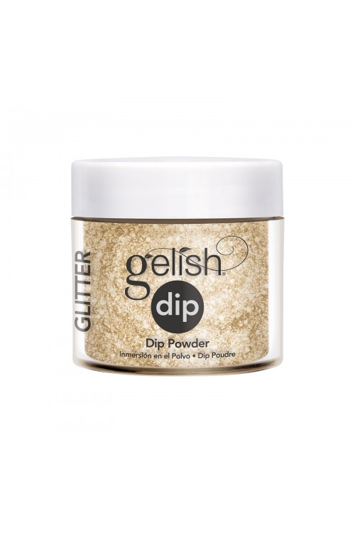 Gelish Dip - All That Glitters Is Gold 23gr