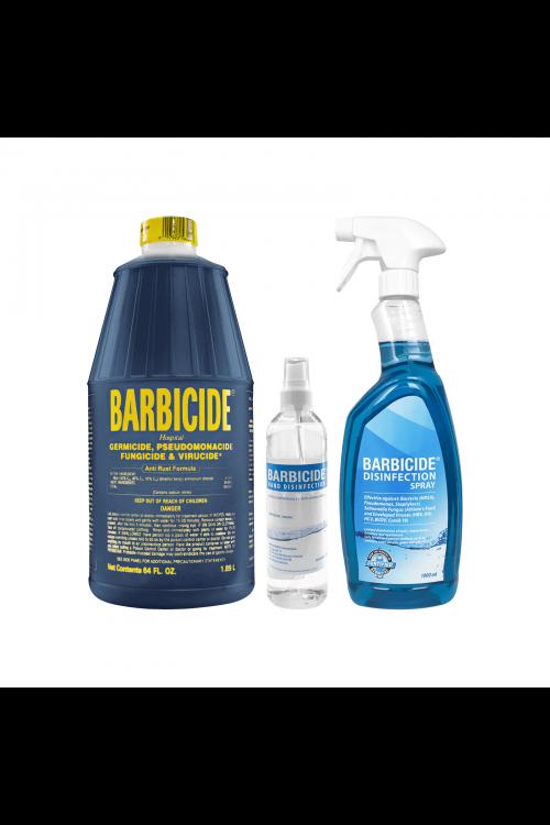 Barbicide Disinfection Salon Kit  - Πακέτο 3τμχ