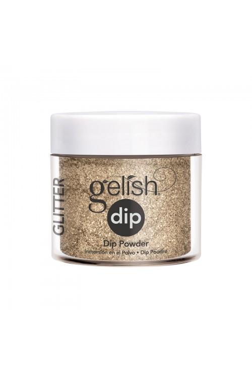 Gelish Dip - Glitter & Gold 23gr