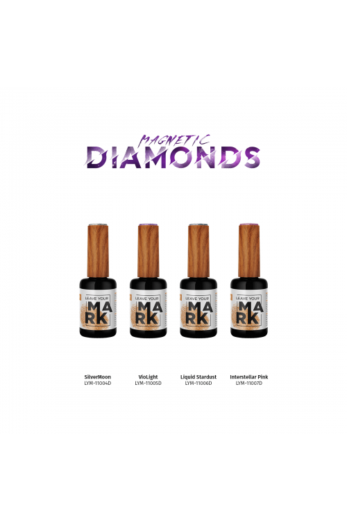 Leave Your Mark - Magnetic Diamonds (Άνοιξη 2021 Limited Edition) - Συλλογή 4τμχ