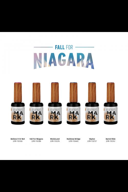 Leave Your Mark - Fall For Niagara (Χειμώνας 2020) - Συλλογή 6τμχ