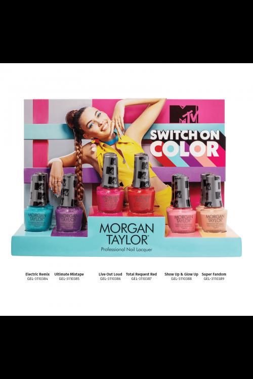 Morgan Taylor - MTV Switch On Color (Καλοκαίρι 2020) - Συλλογή 6τμχ