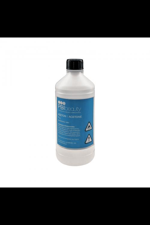 PBIbeauty Αφαιρετικό Βερνικιού Νυχιών Καθαρό Acetone 1L