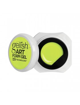 Gelish Art Form Gel - Neon Yellow