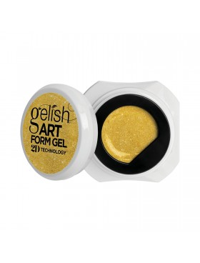Gelish Art Form Gel - Effects Gold Shimmer