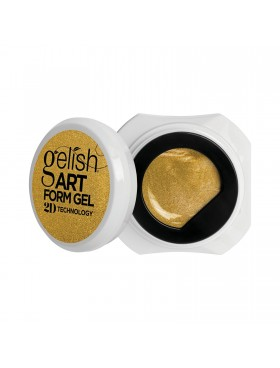 Gelish Art Form Gel - Effects Gold Metallic
