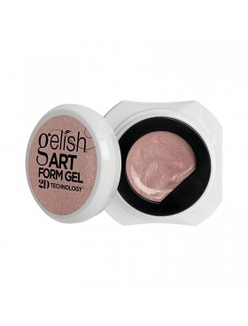 Gelish Art Form Gel - Effects Rose Gold Shimmer