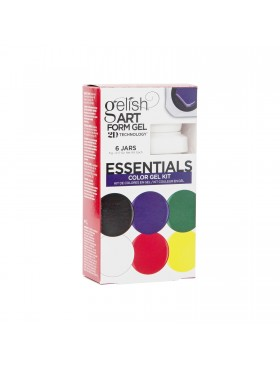 Gelish Art Form Gel - ESSENTIALS Color Gel Kit - Συσκ. 6τμχ