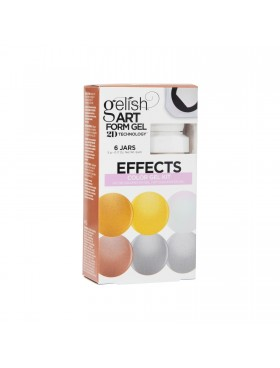 Gelish Art Form Gel - EFFECTS Color Gel Kit - Συσκ. 6τμχ