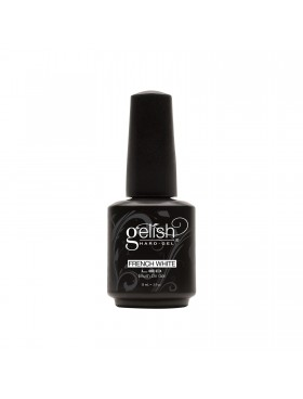 Gelish Hard-Gel FRENCH WHITE Brush On Gel 15ml