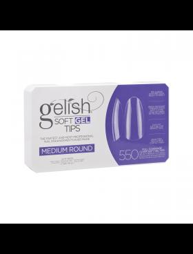 Gelish Soft Gel MEDIUM ROUND Tips - Συσκ. 550τμχ