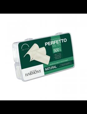Harmony ProHesion PERFETTO Nail Tips NATURAL - Συσκ. 500τμχ