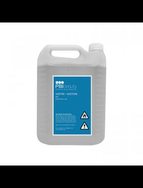 PBIbeauty Αφαιρετικό Βερνικιού Νυχιών Καθαρό Acetone 4L